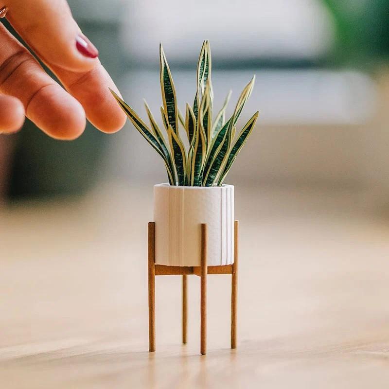 В это трудно поверить, но эти растения выполнены из бумаги (3)