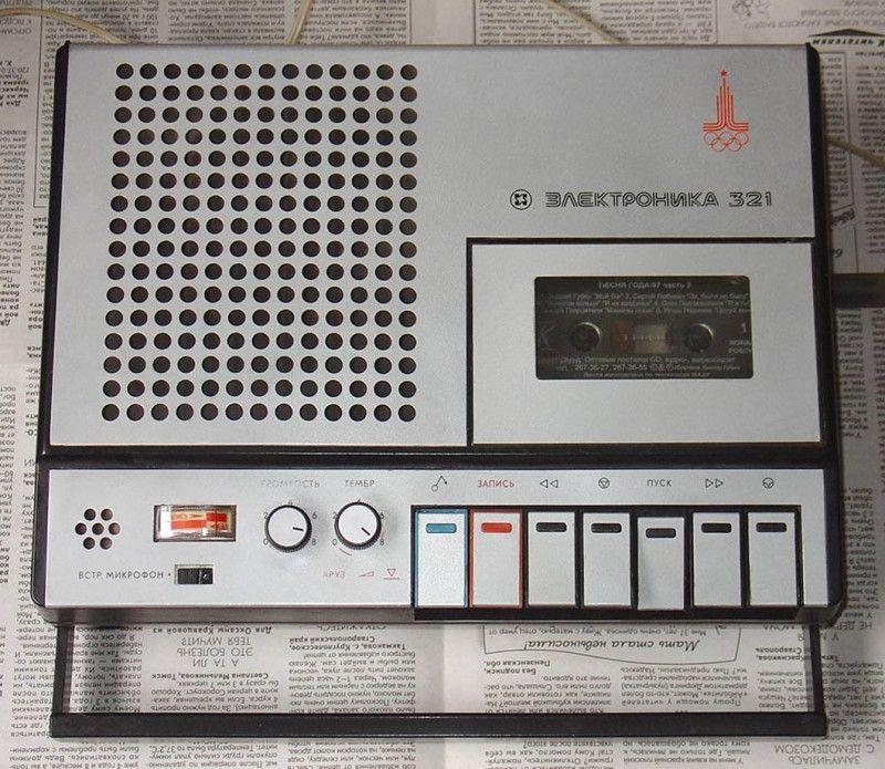 Кассетные магнитофоны 70-80-х (3)