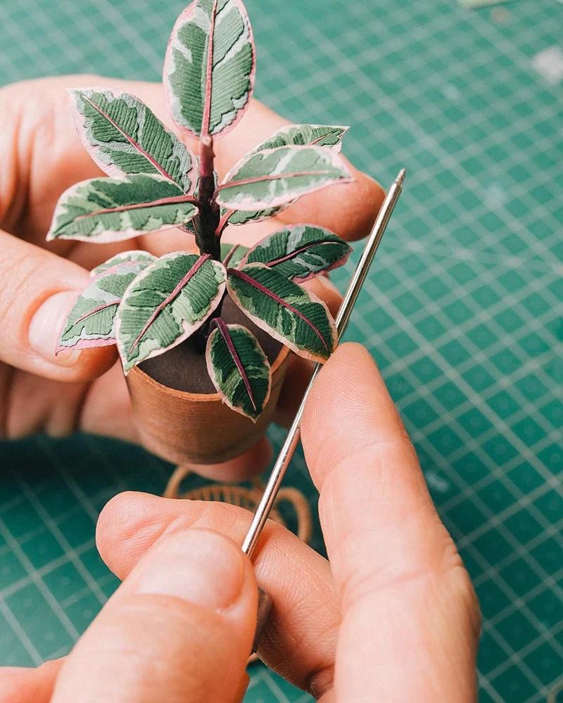 В это трудно поверить, но эти растения выполнены из бумаги (4)