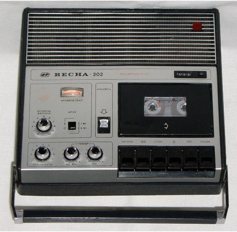 Кассетные магнитофоны 70-80-х (5)