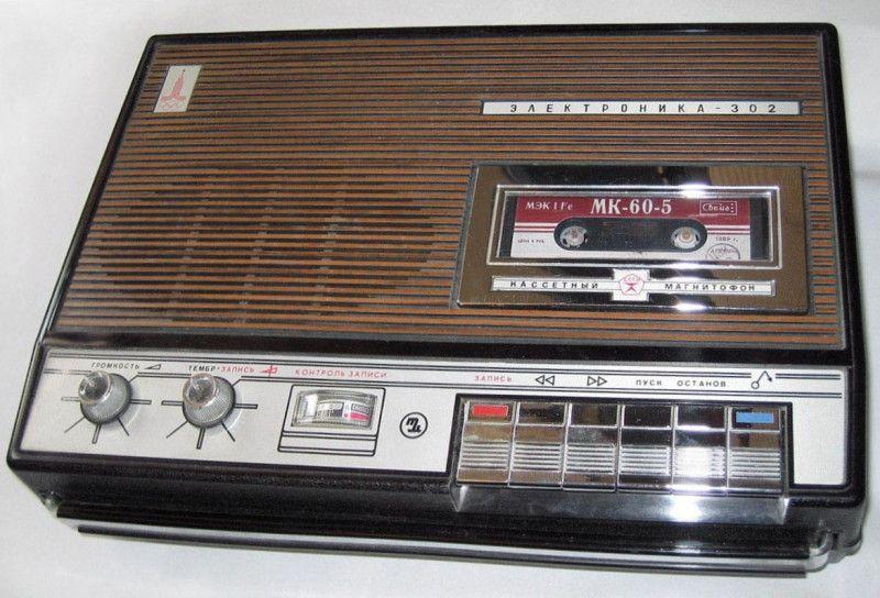 Кассетные магнитофоны 70-80-х (6)
