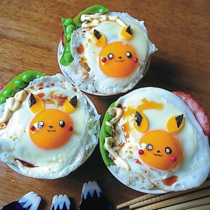 Яичница как искусство. Красивая яичница (7)