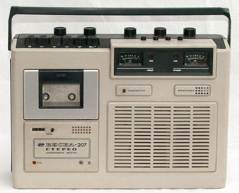 Кассетные магнитофоны 70-80-х (9)