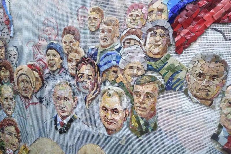 Главный храм Вооруженных сил украсят мозаикой с Путиным, Шойгу и Сталиным (1)