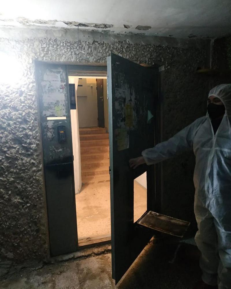 Тюремная изоляция целого подъезда в Актау (1)
