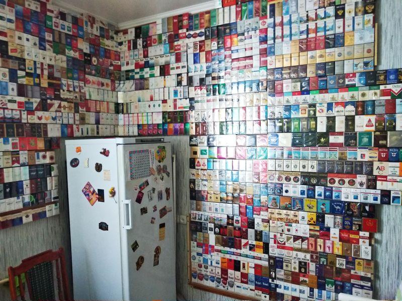 Большая коллекция сигаретных пачек (1)