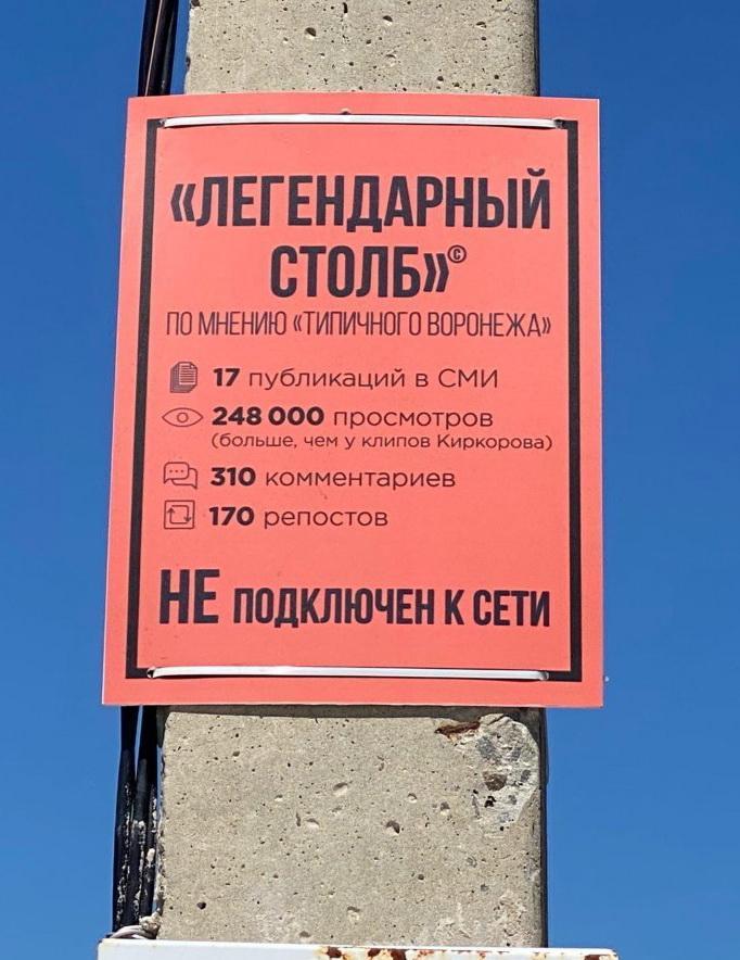 Легендарный столб из Воронежа (3)