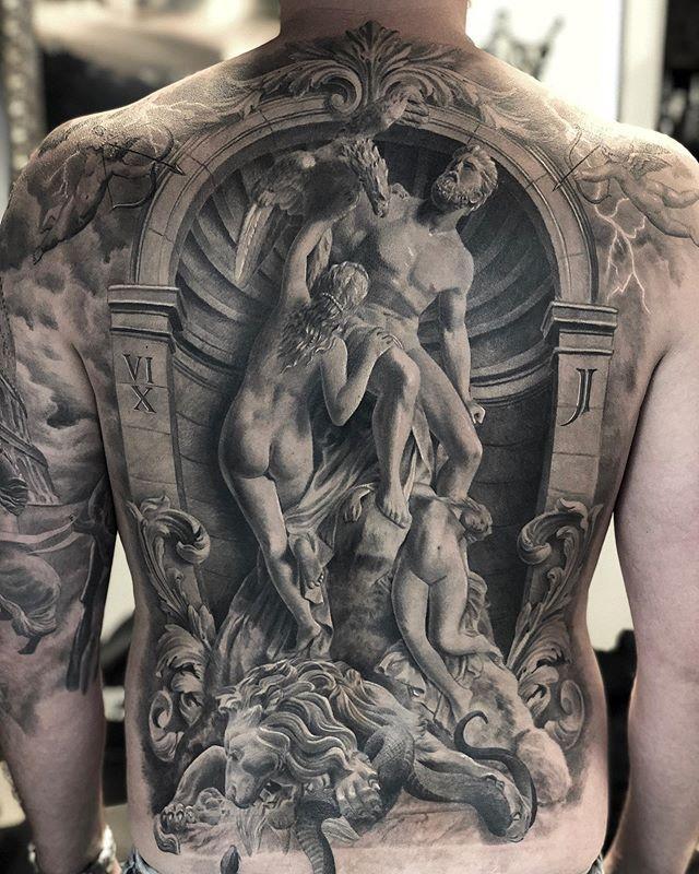 Пожалуй самые это самые потрясающие татуировки из всех что я видел