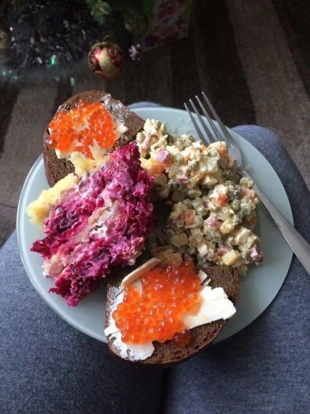 Новогодний завтрак