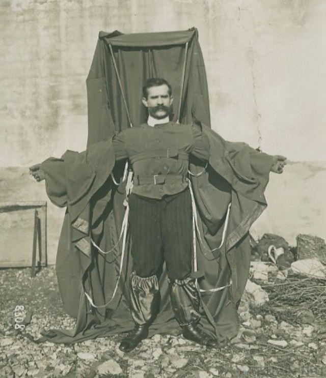 Роковой прыжок Франца Райхельта