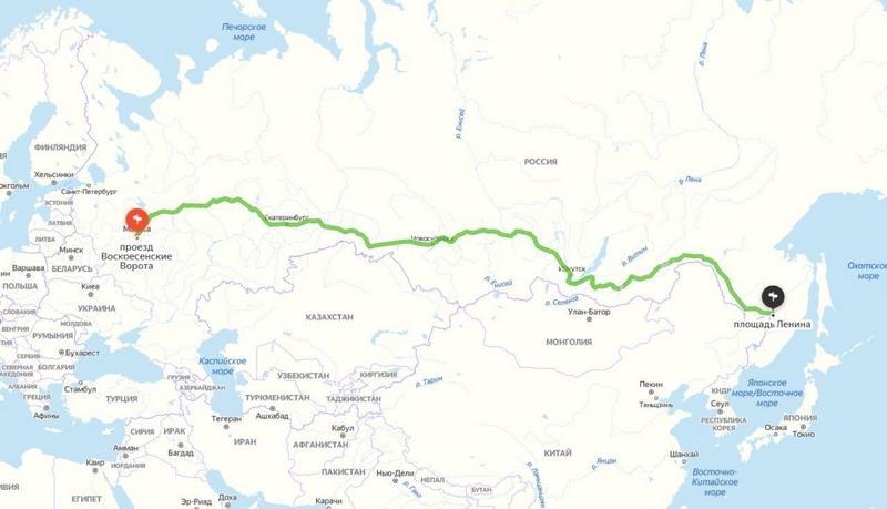 Мужчина заплатил таксисту 250 тыс. руб. за поездку из Москвы в Хабаровск