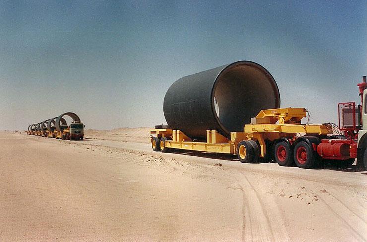 Ливийский ирригационный проект — самый большой в мире
