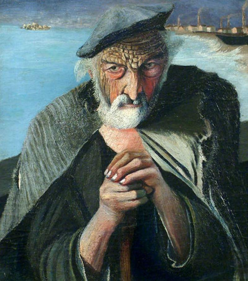 Портрет «Старого рыбака» Чонтвари