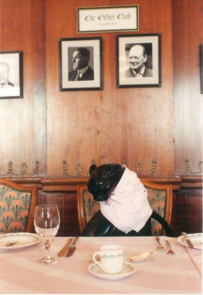 Ох уж эти приметы или черный кот за столом