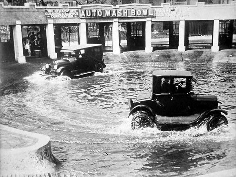 Мойка, Чикаго, 1924 год.