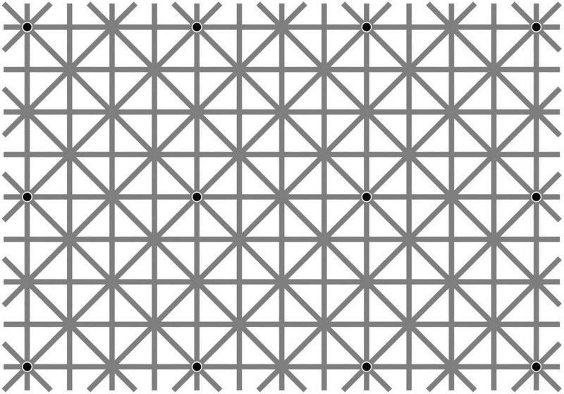На картинке есть 12 черных точек