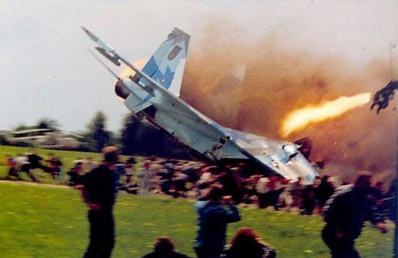 Крупнейшая в мировой истории катастрофа на авиашоу